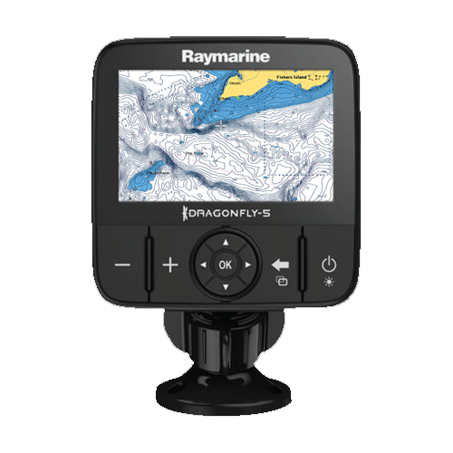 Raymarine Dragonfly 5M 5 Inch Colour Chart Plotter With GPS - No Charts