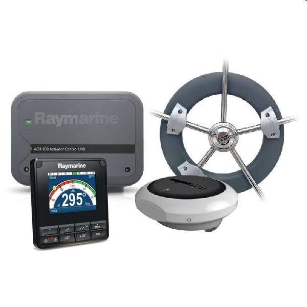 Raymarine Evolution Wheel Pilot with P70s Control Head + ACU-100 & Wheel Drive