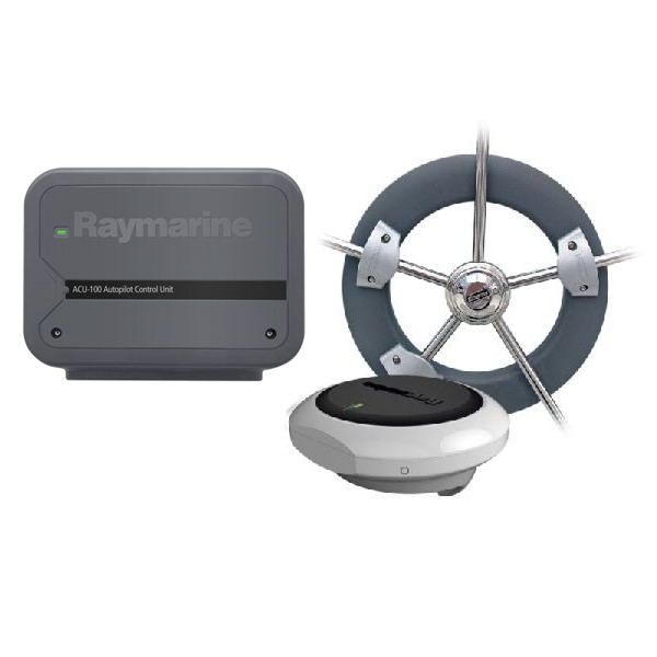 Raymarine Evolution Wheel Pilot with ACU-100 & Wheel Drive - NO CONTROL HEAD