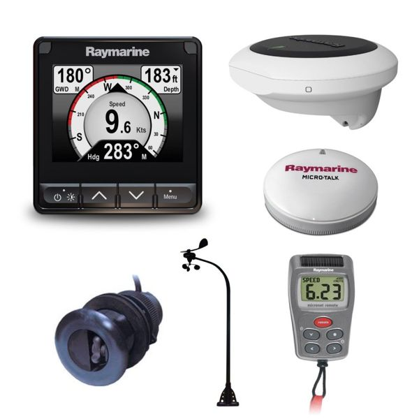 Raymarine i70s. Wireless Vertical Wind. DST800. Heading Sensor & Backbone Kit